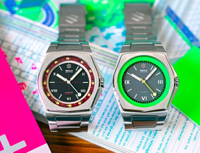 These Affordable Automatic Tool Watches Got a Colorful Makeover
