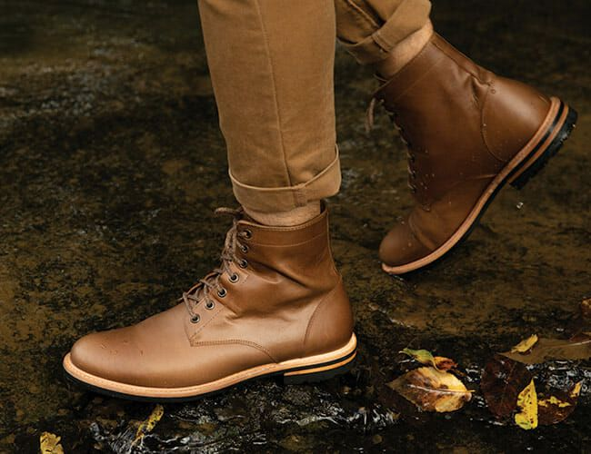 These Leather Boots Are Ready for Winter