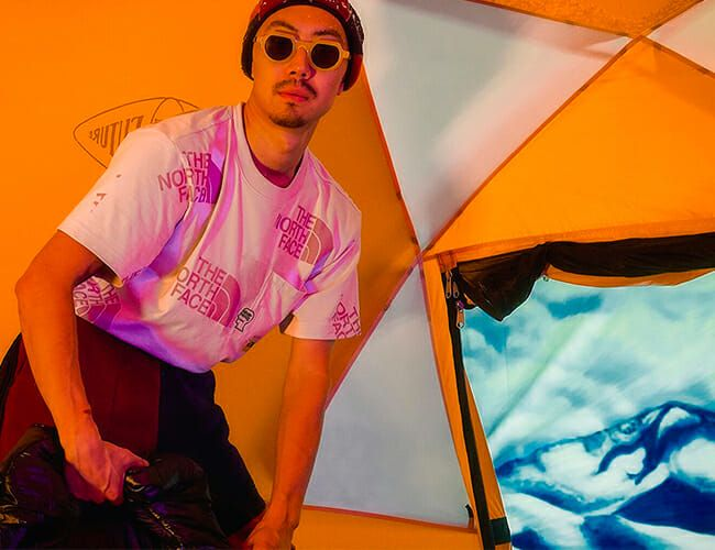 The North Face Produced a Psychedelic Capsule Collection with This Streetwear Label