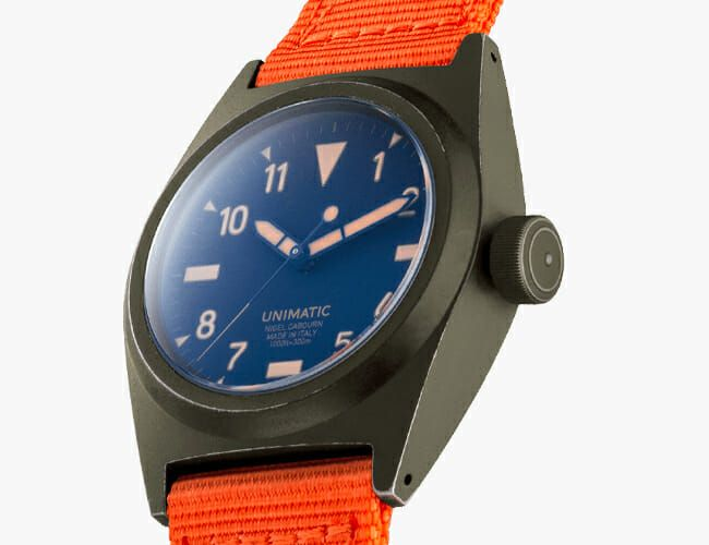 An Italian Watchmaker and a British Designer Teamed Up on This Rugged Tool Watch