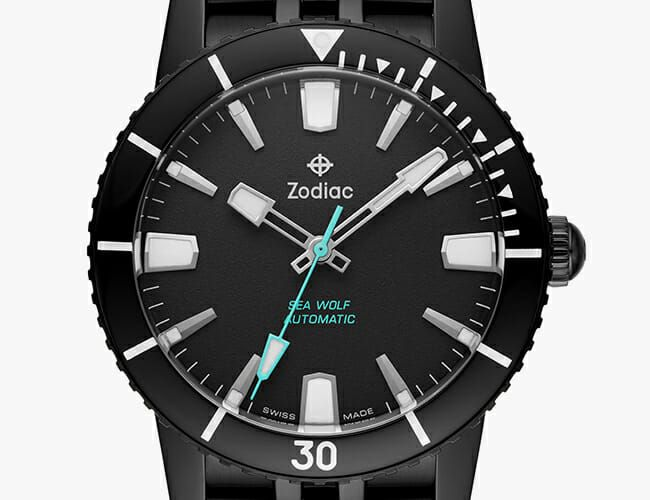 Zodiac Just Released this Stealthy Automatic Dive Watch