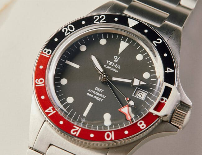 Yema GMT Watch