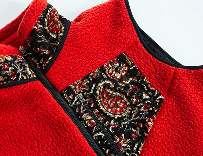 These Vintage-Inspired Fleeces Are Loaded with Handmade Details