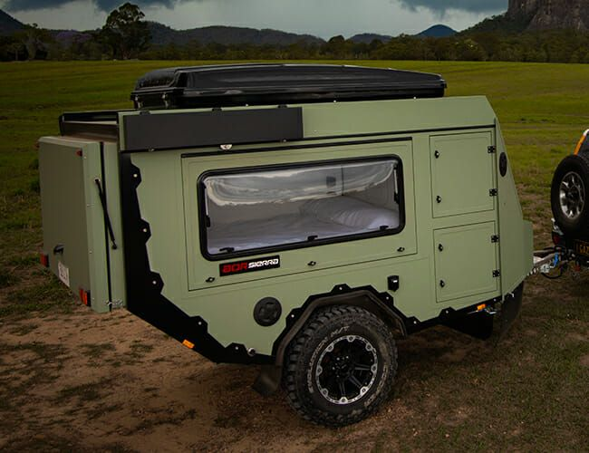 This Mobile Bunker Is the New Forbidden Fruit of Your Camping Trailer Dreams