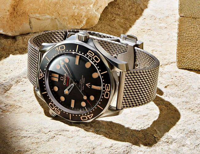 James Bond's New Watch Is a Titanium Omega Seamaster Diver
