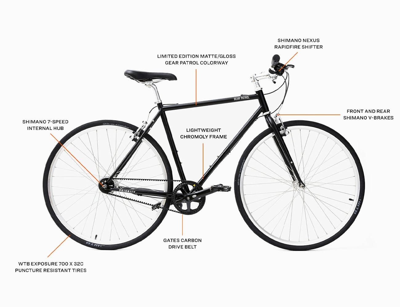 Gear Patrol Commuter Bike