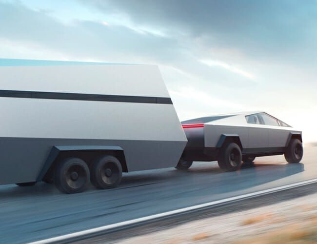 Could Tesla Be Planning a Camping Trailer Just for the Cybertruck?