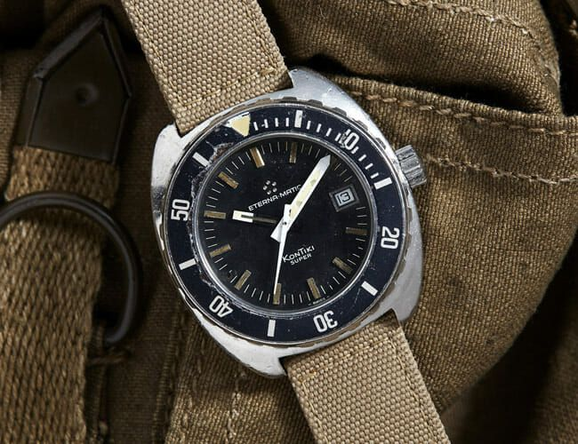 Elite Naval Commandos Wore This Vintage Military Watch in the 1970s