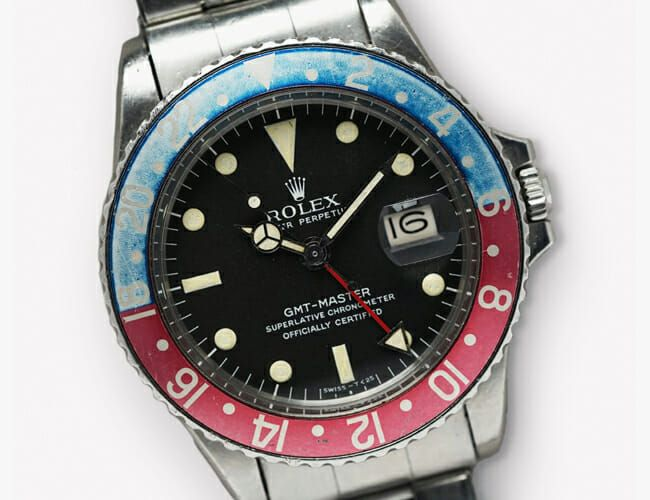 Here's Your Chance to Win a Vintage Rolex GMT Master Watch