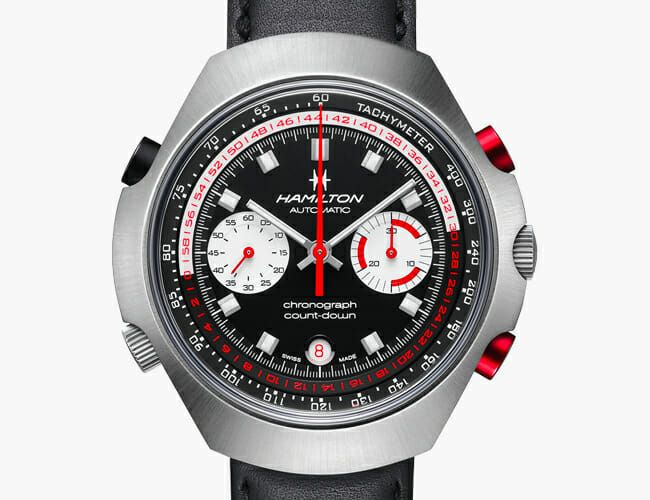This Funky Chronograph Watch Recreates a '70s Classic