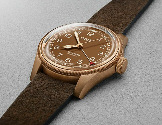 Each of These Bronze Watches from Oris Is Truly Unique