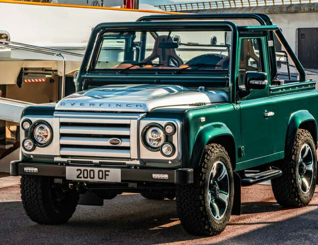 Is This the Most Ridiculous Land Rover Defender Ever Made?