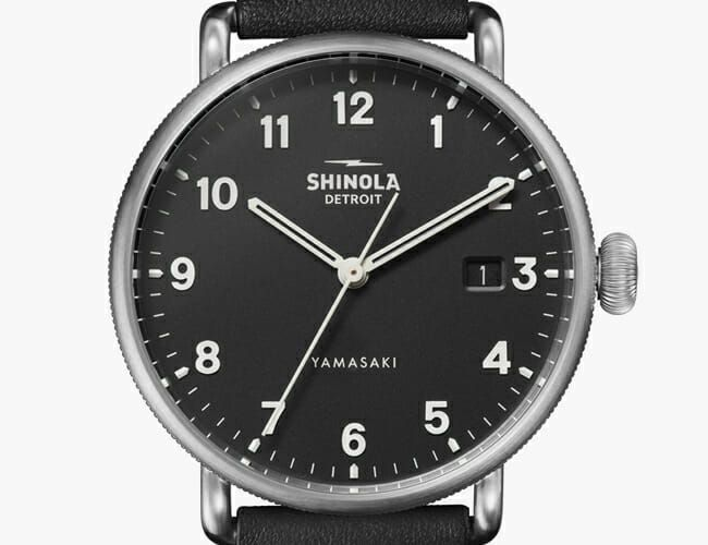 Shinola's Newest Watch Is a Handsome, Minimalist Special Edition