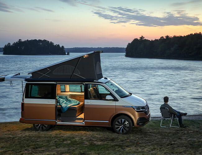 VW's New Camper Van Isn't Coming Here, But We Drove It Anyway
