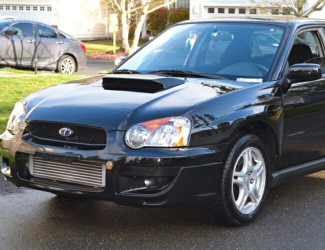 Fulfill Your Teenage Dreams With This Nearly-Perfect, Low-Mileage 2004 Subaru WRX