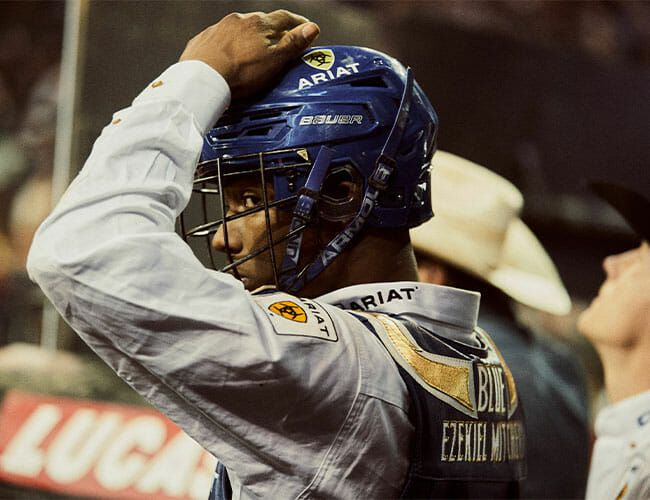 A Day With a Top-Ranked Professional Bull Rider
