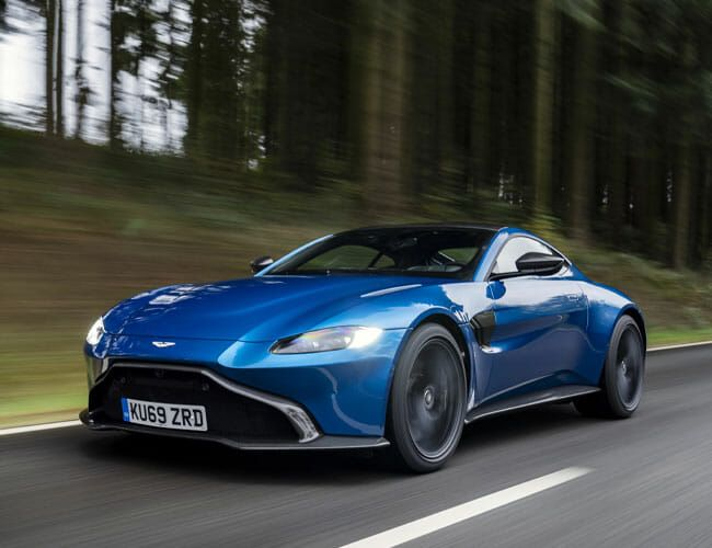 Aston Martin Vantage AMR Review: Snick, Snick, There's a 7-Speed Stick