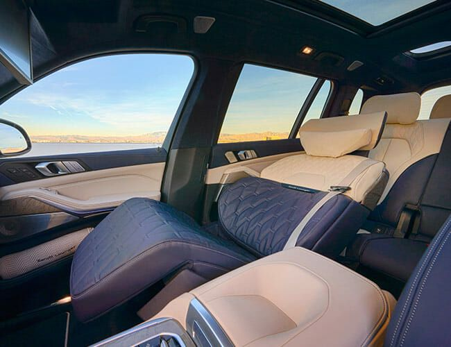 BMW's ZeroG Front Seat is Perfect for Helping Cure a Whiskey Hangover