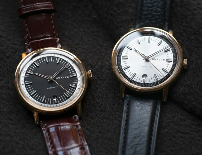 These Minimalist Automatic Watches Just Got a Swanky Update
