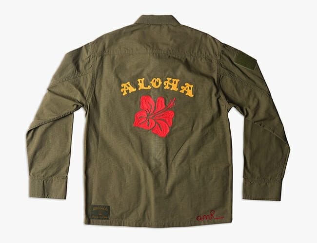 This Legendary California Brand Teamed Up with an Australian Artist on a Beautiful Military Jacket