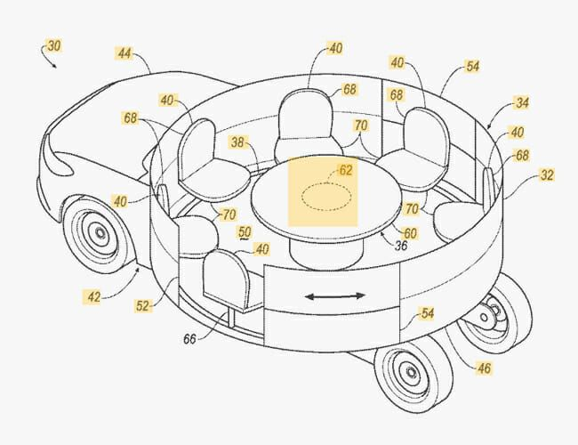 Here Are 5 of the Weirdest Car Company Patents You'll Find