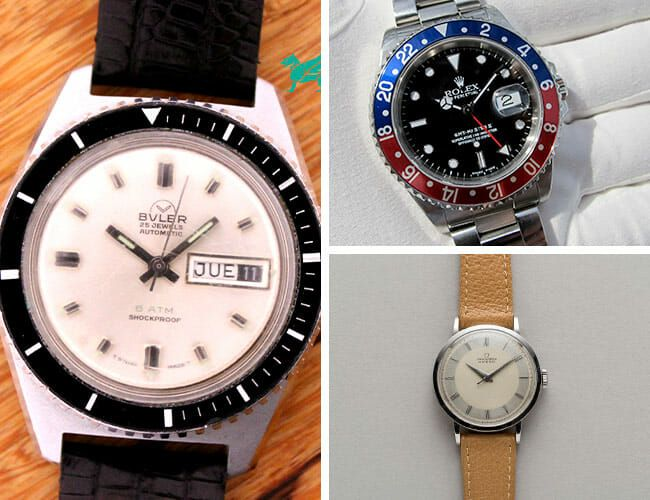 A Full-Set Rolex GMT Master and More Vintage Watches Available Right Now