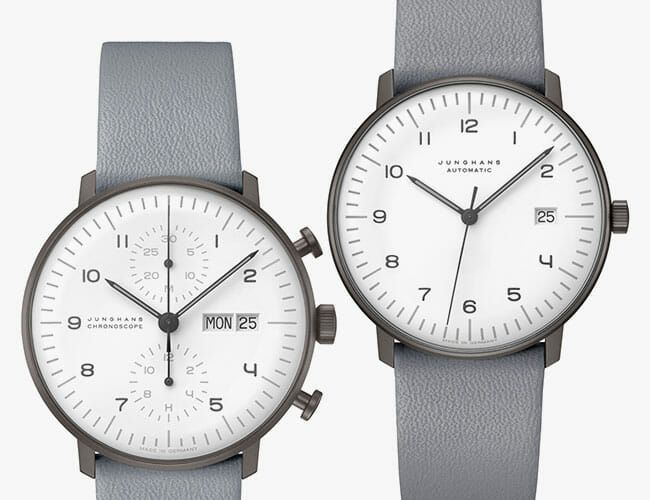 These Minimalist German Watches Just Received a Striking Update