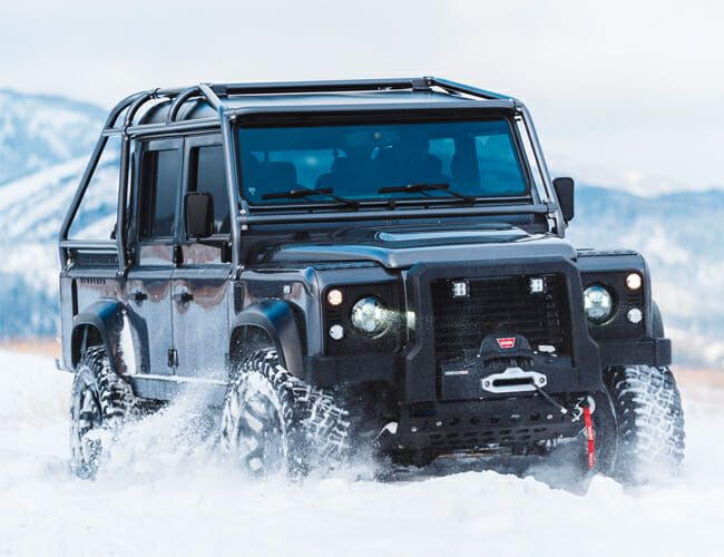 This Upgraded Land Rover Defender Pickup Is the Ultimate Luxury Truck