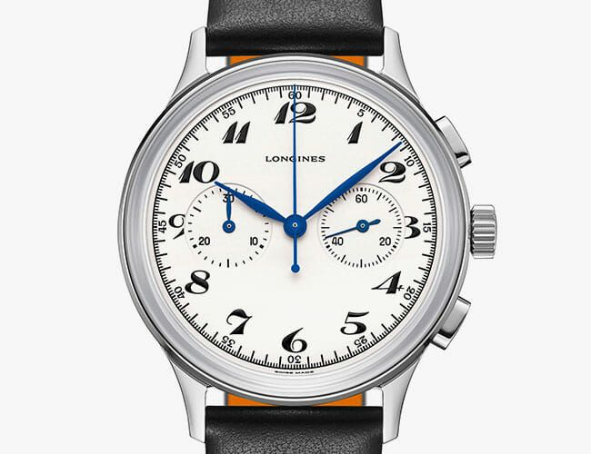 Looking for a Beautiful Chronograph Watch? Check Out This 1940s-Inspired Longines