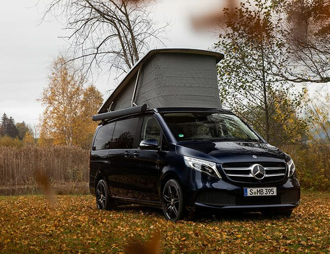 Mercedes Sells a Camper Van You Can Control With Your Smartphone