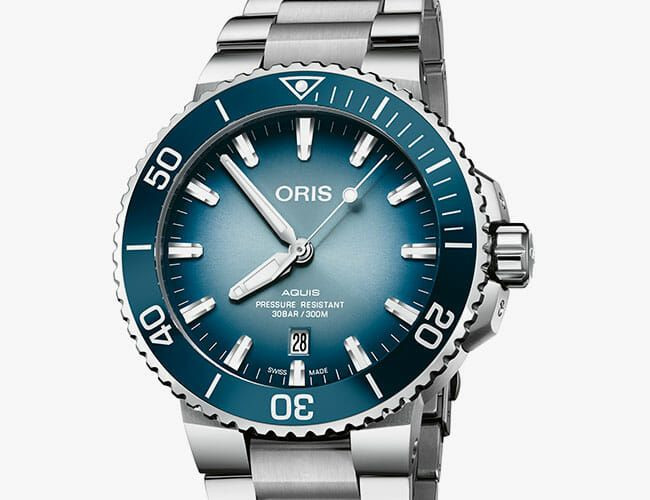 This Icy Dive Watch Supports a Worthy Cause
