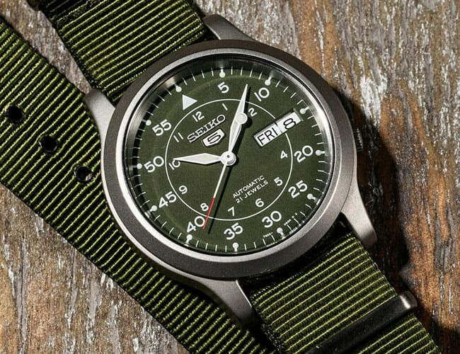 Own a Seiko 5 Field Watch? Here Are 3 Great Upgrades to Consider