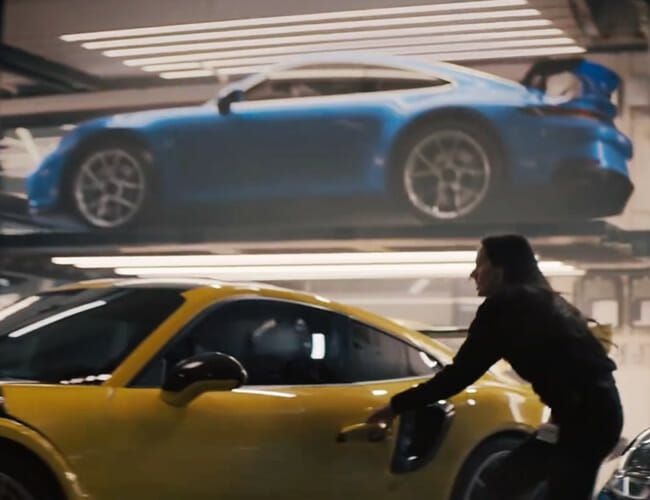 Did Porsche Sneak the Secret New 911 GT3 Into Its Super Bowl Ad?
