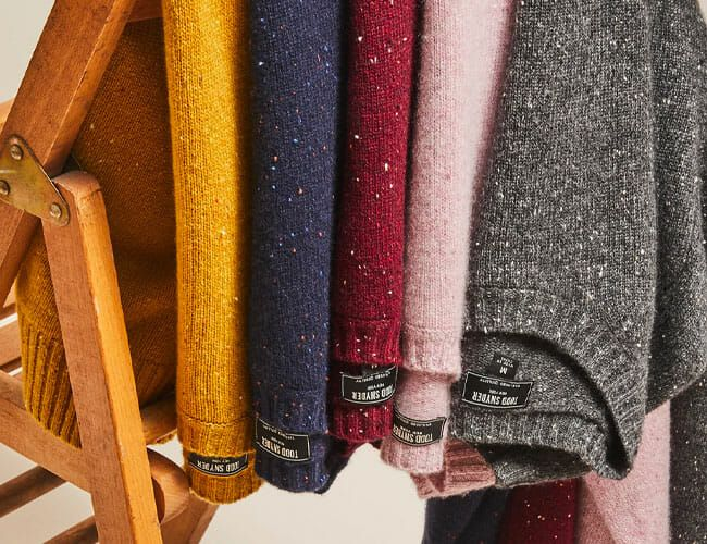 Now's Actually the Best Time to Buy a Wool Sweater
