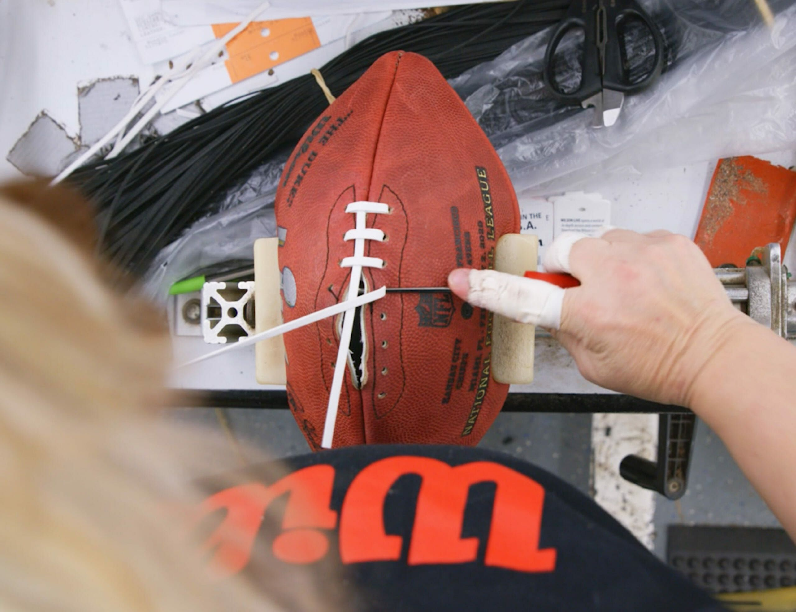 This Small Crew in Ohio Makes All 216 Official Super Bowl Footballs by Hand