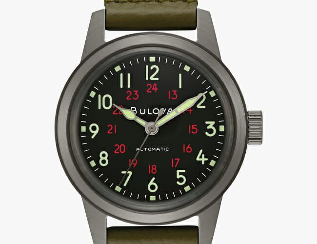 Bulova Is Bringing Back One of Our Favorite American Military Watches