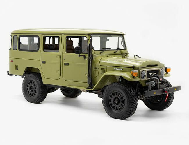 This Custom Land Cruiser Is Exquisite, Modern and Surprisingly Practical