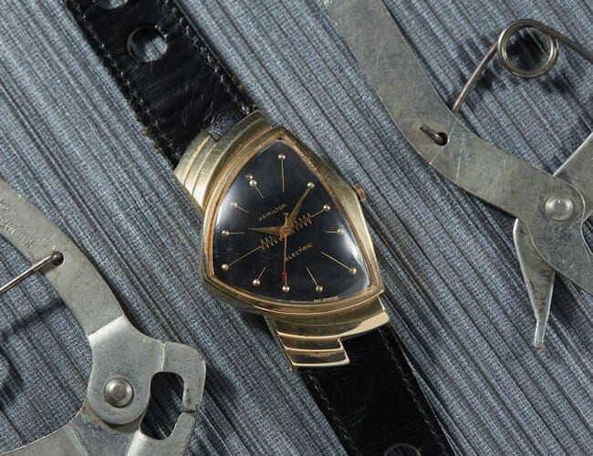 A 1957 Hamilton Ventura and More Finds from the Vintage Watch Market