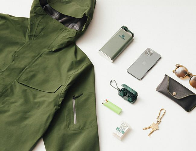 All You Need to Carry in Your Essential Wet Weather Coat