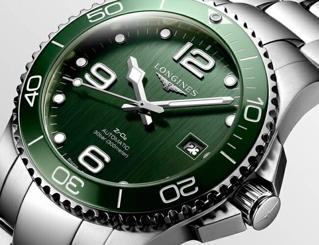 This Serious Swiss Dive Watch Just Got a Green Dial Refresh