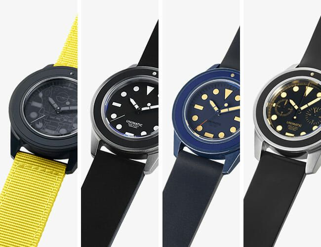 An Interview with Unimatic, the Minimalist Italian Watch Company You Should Know