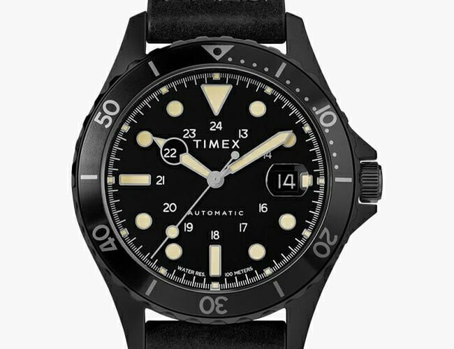 Timex Has Updated an Affordable Dive Watch with an Automatic Movement
