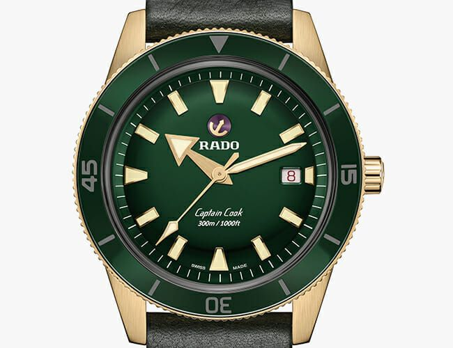 Bronze and Green Combine for a Great Look in This New Dive Watch