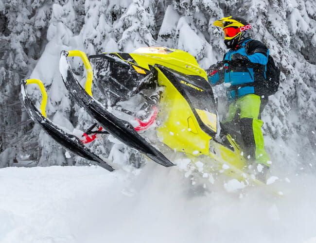 This New Snowmobile Has a Killer App: Turbo Power