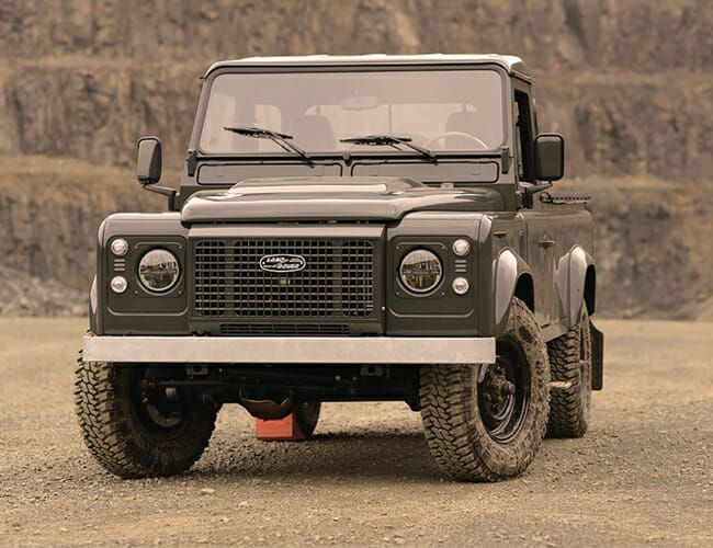 This Custom Land Rover Defender Pickup Is Vintage Truck Perfection
