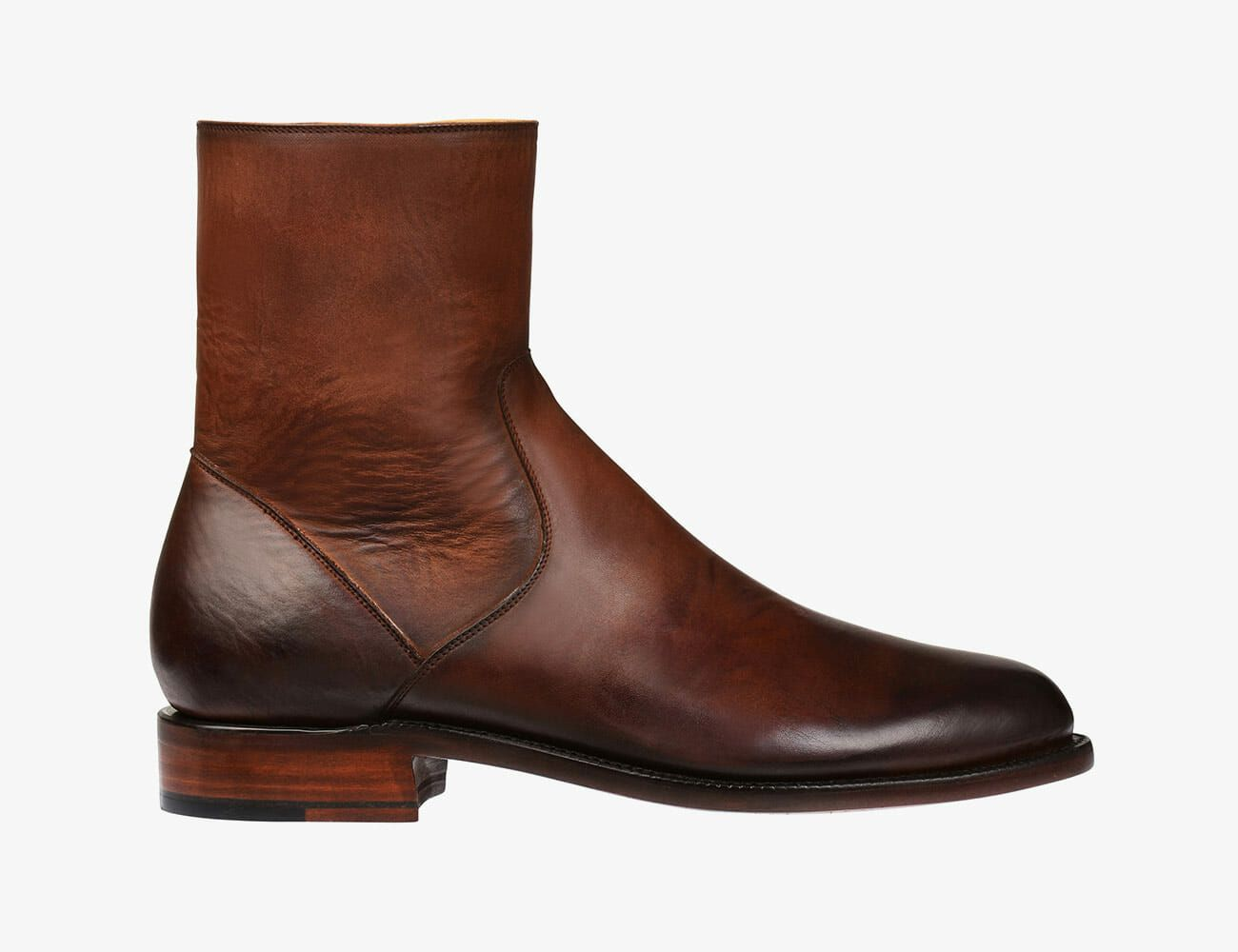 Modeka Lane Motorcycle Boots Sneaker Leather Brown