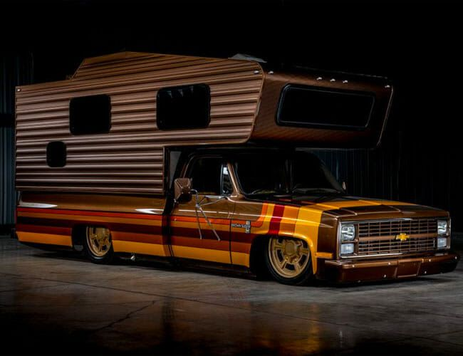 No Regular Camper Van Can Compare to This Insane Custom Chevy Camper