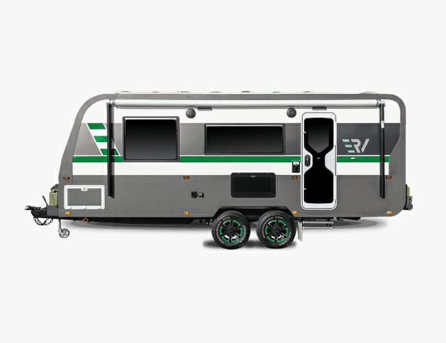 This All-Electric Camping Trailer Combines Overlanding and Glamping