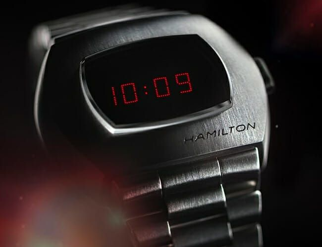 This Retro-Futuristic Digital Watch Was Good Enough for James Bond