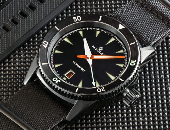 Sales of This Affordable, Tactical Dive Watch Support a Timely Cause